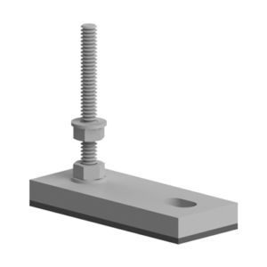 Picior fix pentru profilele aluminiu Bosch seria 40 si 45