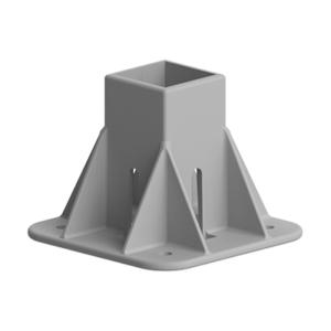 Baza fixare in podea pentru profil aluminiu Bosch 45x45