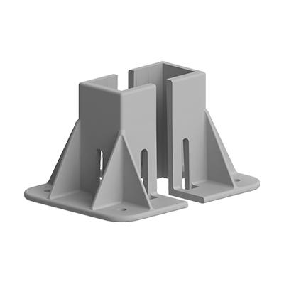 Baza fixare in podea pentru profil aluminiu Bosch 80x80