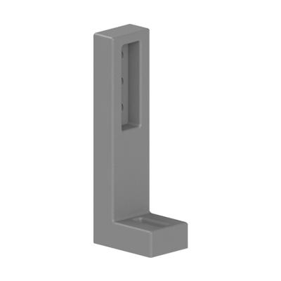 Suport fixare in podea pentru profil aluminiu Bosch canal 10 mm din zamac