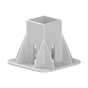 Baza fixare in podea pentru profil aluminiu Bosch 50x50