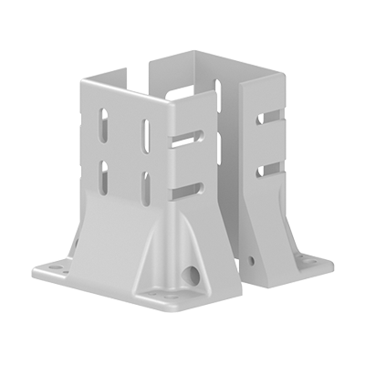 Baza fixare in podea pentru profil aluminiu Bosch 100x100