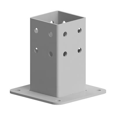 Baza fixare in podea pentru profil aluminiu Bosch 80x80 (Copy) (Copy)