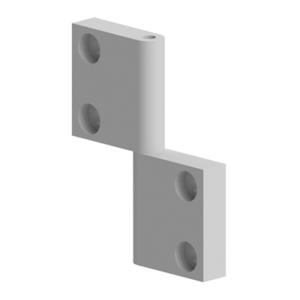 Balama aluminiu 81x62 mm pentru profil aluminiu Bosch 084.502.003