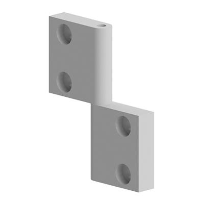 Balama aluminiu 81x64 mm pentru profil aluminiu Bosch 084.502.006