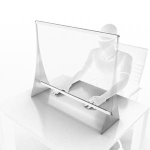 Panou de protectie pentru birou 800x700 mm (Copy)
