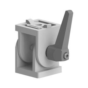 Articulatie blocabila cu levier pentru profil aluminiu tip Bosch 45X45