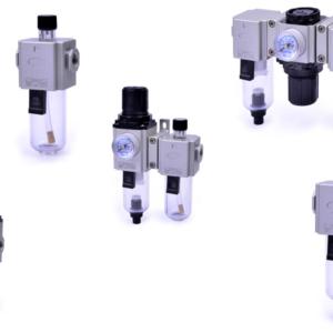 Unitati de preparare aer FRL compacte
