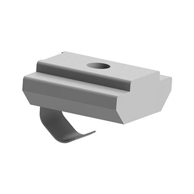 Piulita T culisanta cu arc pentru canal de 8 mm