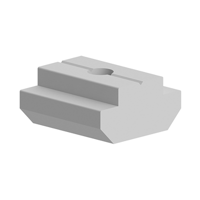 Piulita T culisanta pentru canal de 10 mm