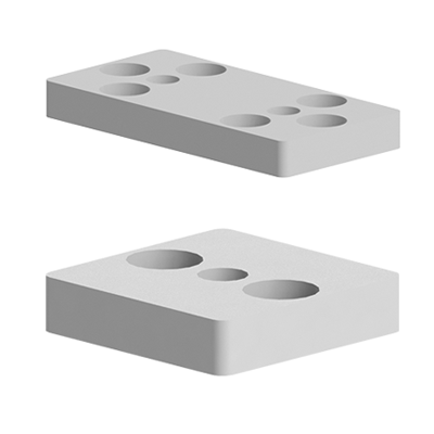 Placi fixare perpendiculara pentru profilele din aluminiu tip Bosch