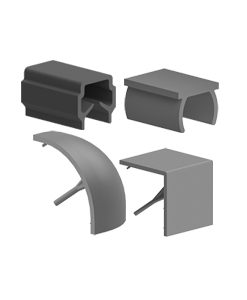 Capace pentru profile aluminiu BH